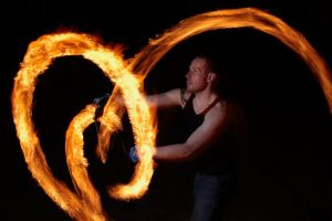 How To Photograph Fire Twirling