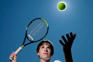 Canada Games Athletes-Tennis player Daniel Blake