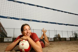 Canada Games Athletes-Beach Volleyball Player Jill Blanchard