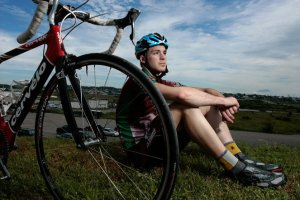Canada Games Athletes-Cyclist Justin Theriault