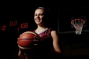 Canada Games Athletes-Basketball player Laura McCaffrey