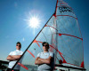 Canada Games Athletes-Sailors Alex Black and Kelvin Gilliland