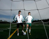 Canada Games Athletes-Soccer's Cassian Ferlatte and Marisa Duguay