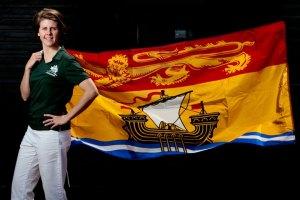 Canada Games Portraits-Chef du Mission Jennifer Bent Richard