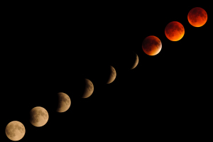 Photoshop Tutorial: Create A Lunar Eclipse Composite