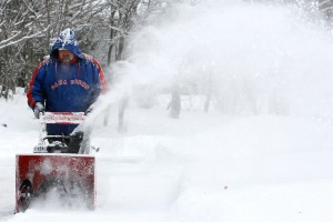 How To Take Great Photos Of Snowblowing and Shovelling